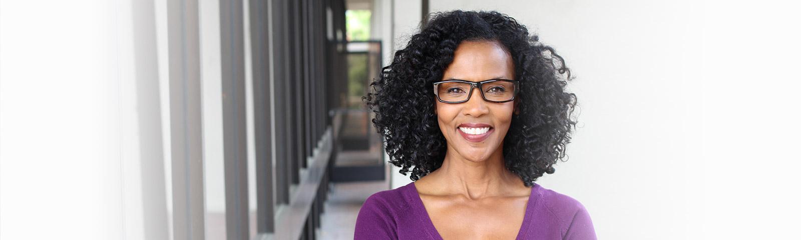 Beautiful black dating woman