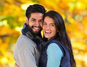 Indian dating couple